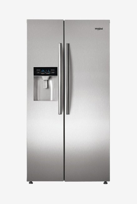 9679957ac60 Buy Whirlpool SBS 600 568 L Side by Side Refrigerator (Steel) Online At  Best Price   Tata CLiQ