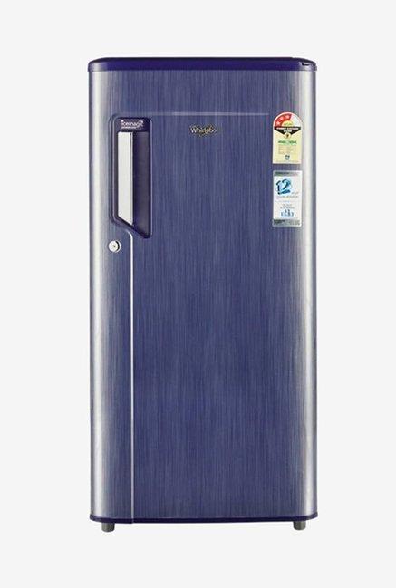 Whirlpool 200 IMPWCOOL CLS PLUS 185 L 3 Star Direct Cool Single Door Refrigerator (Blue)