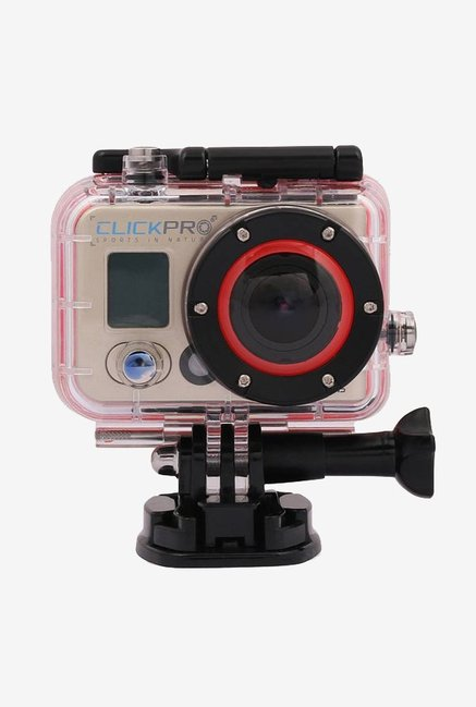 ClickPro Polar 12 MP Sports & Action Camera With Chest Mount (Metallic Copper)