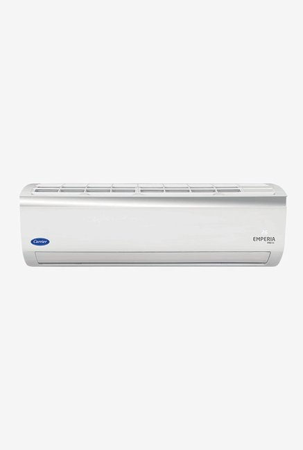 Carrier 1.5 Ton Inverter 5 Star (BEE Rating 2018) EMPERIA PRO 5i CAI18EP5C8F0 Copper Split AC(White)