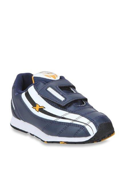 Buy Sparx Navy \u0026 White Running Shoes