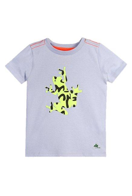 0e0ce3dee Buy Cherry Crumble California Grey Printed T-Shirt for Boys Clothing Online  @ Tata CLiQ