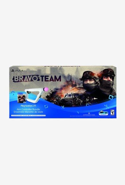 Sony Bravo Team PSVR with Aim Controller (White)