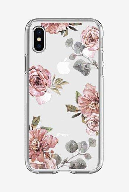 low priced edd61 5c59d Buy Spigen Liquid Crystal Aquarelle Case for iPhone X (Rose) Online ...