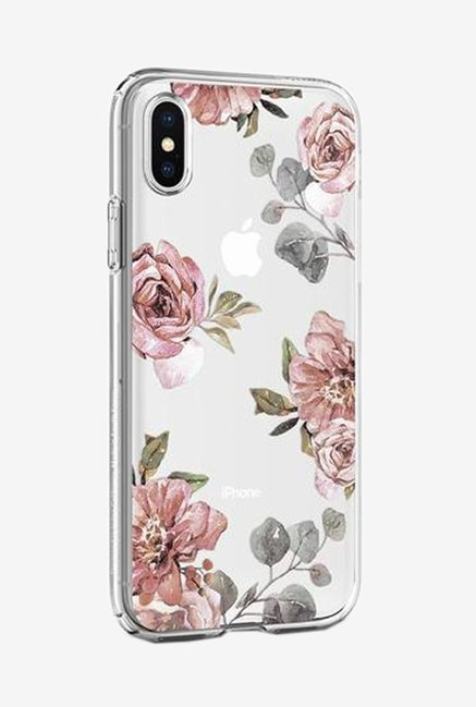 low priced edd61 5c59d Buy Spigen Liquid Crystal Aquarelle Case for iPhone X (Rose) Online ...