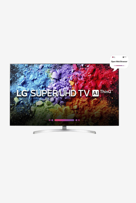 37a43179bf3 Buy LG 55SK8500PTA 139.7 cm (55 Inches) 4K Ultra HD Smart LED TV Online At Best  Price   Tata CLiQ