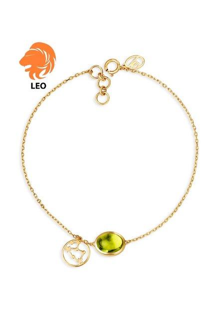 différemment 28a14 b0930 Buy Mia by Tanishq Leo 14 kt Gold Bracelet Online At Best ...