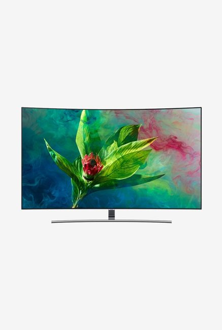 bd8a10e3d6a Buy Samsung 55Q8CN 138 cm (55 Inches) 4K Ultra Curved Smart QLED TV Online  At Best Price   Tata CLiQ