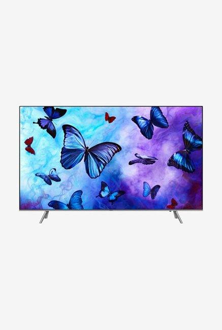 Samsung 163 cm  65 Inches  Smart Ultra HD 4K QLED TV 65Q6FN  Eclipse Silver