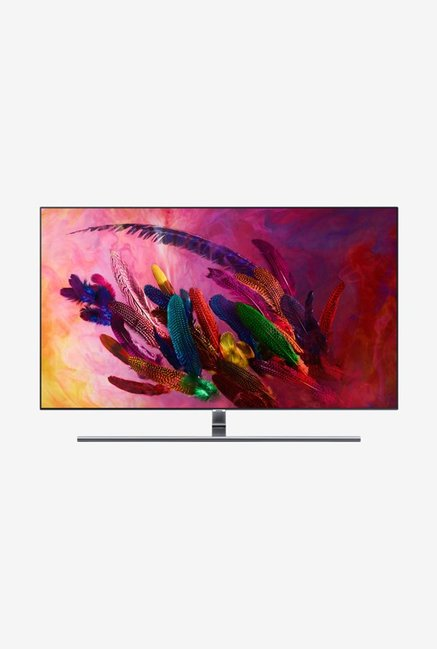 Samsung 138 cm (55 Inches) Smart Ultra HD 4K QLED TV 55Q7FN (Eclipse Silver)
