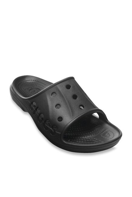 ca36f0160 Buy Crocs Baya Black Casual Sandals for Men at Best Price   Tata ...