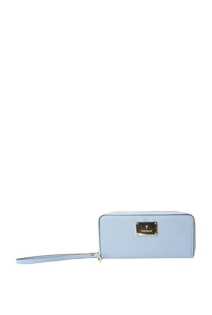Van Heusen Light Blue Textured Wallet