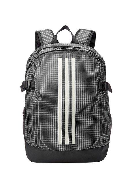 2e4fe3d7d Buy Adidas Power Black   White Chequered Laptop Backpack Online ...