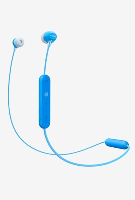 Sony WI C300 In The Ear Wireless Headphones  Blue