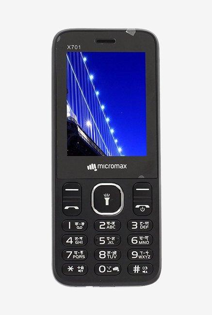 Micromax X701  Black  Dual SIM