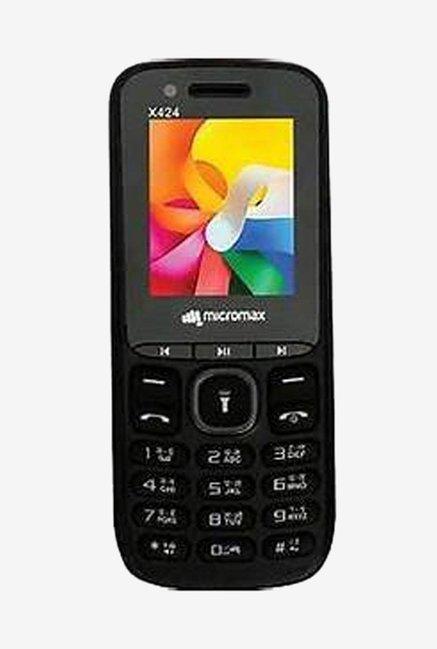 Micromax X424+  Black  Dual SIM