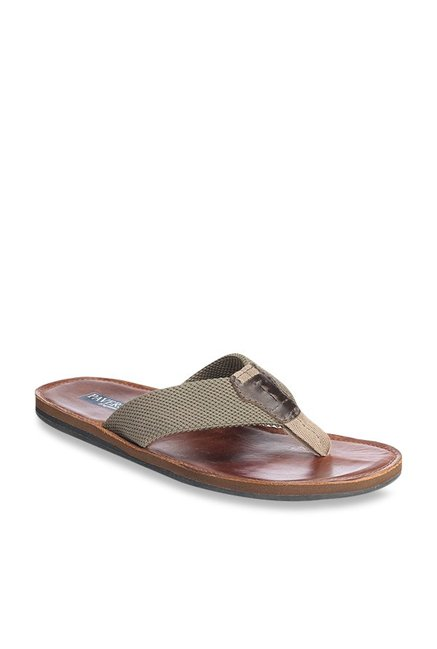ae0bffafcee Buy Pavers England Grey Thong Sandals for Men at Best Price   Tata CLiQ