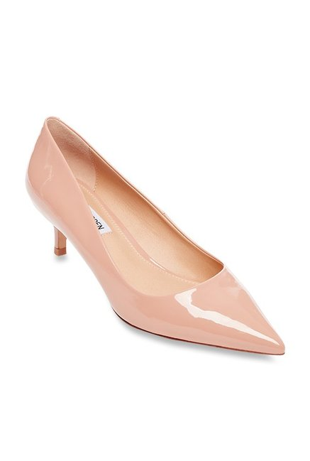 df35415301bb Buy Steve Madden Sabrinah Nude Pumps for Women at Best Price   Tata CLiQ