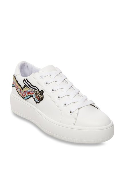 95a230bc7ad Buy Steve Madden Bertie-D White Sneakers for Women at Best Price ...