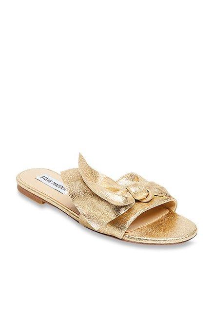 1d7461a01d6 Buy Steve Madden Truesdale Golden Casual Sandals for Women at ...