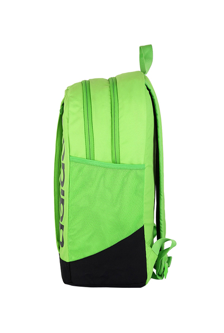5377f7d739 Buy Adidas Lin Per Lime Green   Black Solid Laptop Backpack Online ...