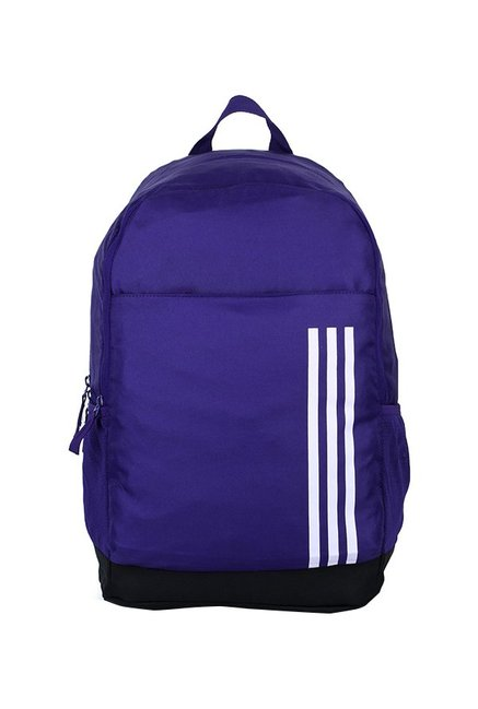 366b545decc3 Buy Adidas A Classic M3sl Blue   Black Striped Laptop Backpack Online At  Best Price   Tata CLiQ