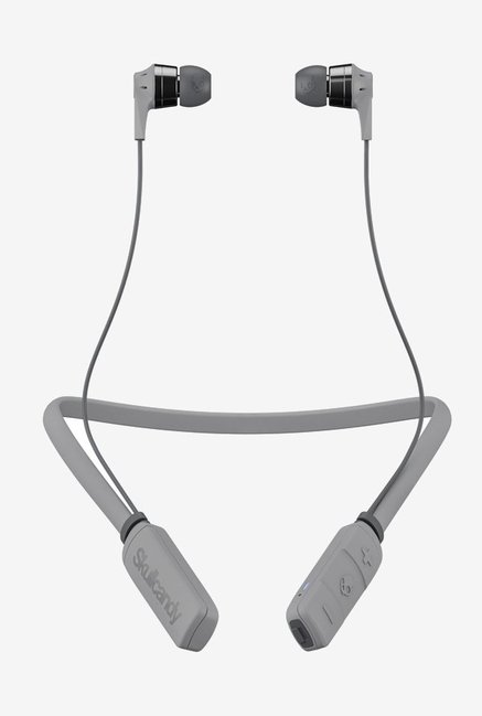 Skullcandy SCS2IKW K610 Bluetooth Headset with Mic  Street Gray/Chrome