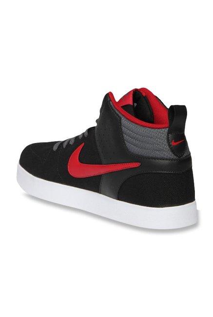 ab37ad2078b Buy Nike Liteforce III Mid Black & Red Ankle High Sneakers for Men ...