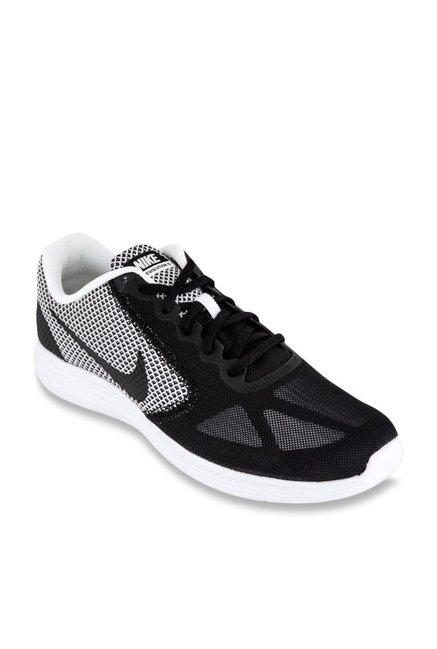 Buy Nike Revolution 3 Black \u0026 White