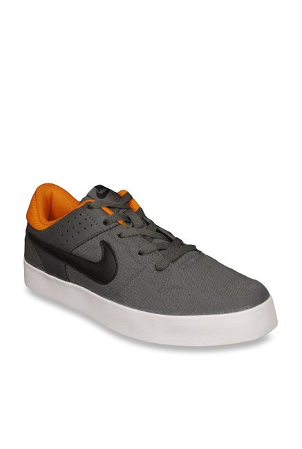 Buy Nike Liteforce III Dark Grey & Orange Sneakers for Men