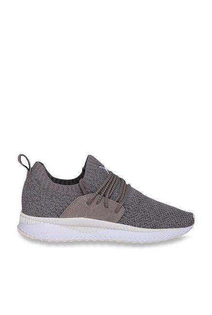 0d1f4eb095de1 Buy Puma TSUGI Apex evoKNIT Rock Ridge & Castor Grey Sneakers for ...