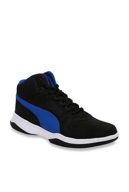 1a5292d5c2fa0c Buy Puma Rebound Street Evo SL IDP Black Ankle High Sneakers for Men at  Best Price   Tata CLiQ
