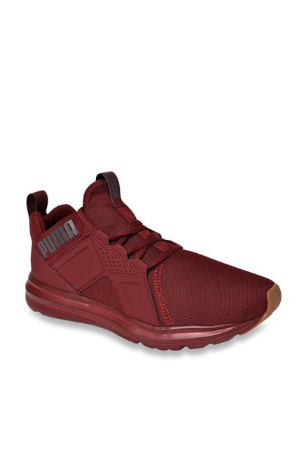 1788893f90ce Buy Puma Enzo Premium Cabernet Training Shoes for Men at Best Price   Tata  CLiQ