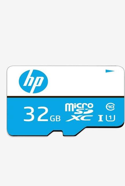 HP Micro SDHC 16   GB Class 10 Memory Card  Blue