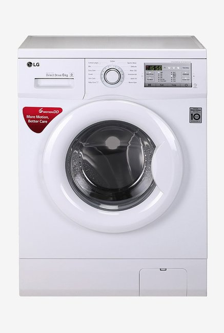 LG FH0H4NDNL02 6 kg Fully Automatic Front Loading Washing Machine (Blue White)
