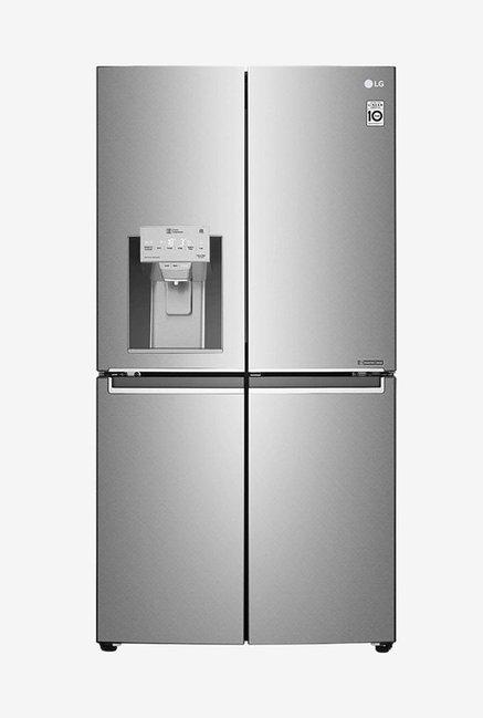 LG 889L Frost Free Side by Side Refrigerator with Inverter Linear Compressor  Saffiano, GR J31FTUHL