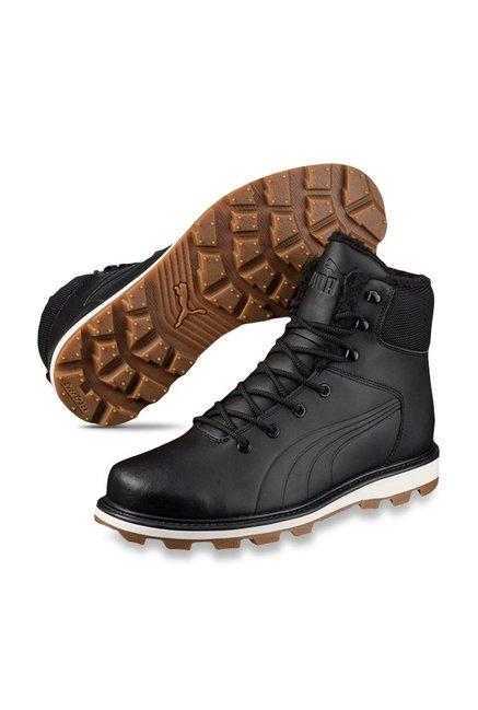 7c9cde9826e Buy Puma Desierto Fun L Black Winter Boots for Men at Best Price ...
