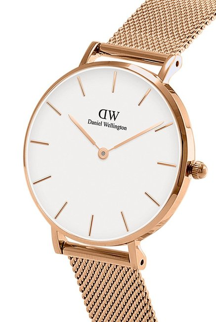 Daniel Wellington DW00500019 Classic Petite Melrose 32Mm Watch   Rose Gold Cuff  Combo d1865eae623