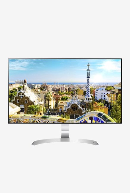 LG 27MP89HM-S 68.58 cm (27 Inch) Full HD Borderless IPS Monitor (Silver)