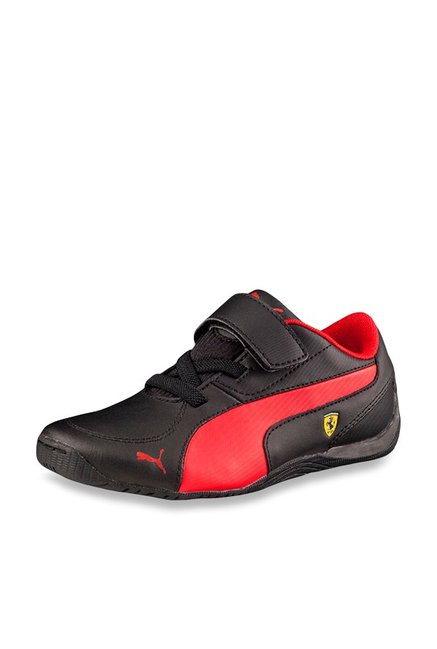 07430c5f1ced Buy Puma Ferrari Drift Cat 5 L SF NU V PS Black Sneakers for Men at Best  Price   Tata CLiQ