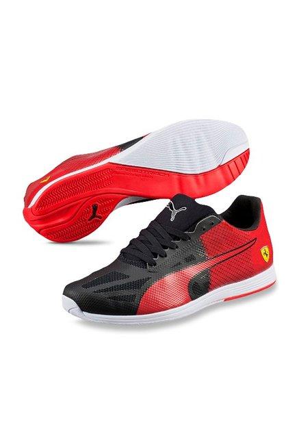 9c1417c029b Buy Puma Ferrari evoSPEED Sock SF Black   Rosso Corsa Sneakers for ...