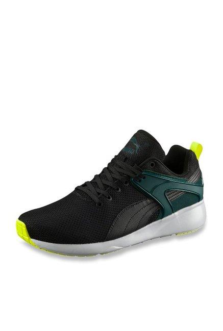 57efedde04aa Buy Puma Aril Blaze Black Training Shoes for Men at Best Price   Tata CLiQ