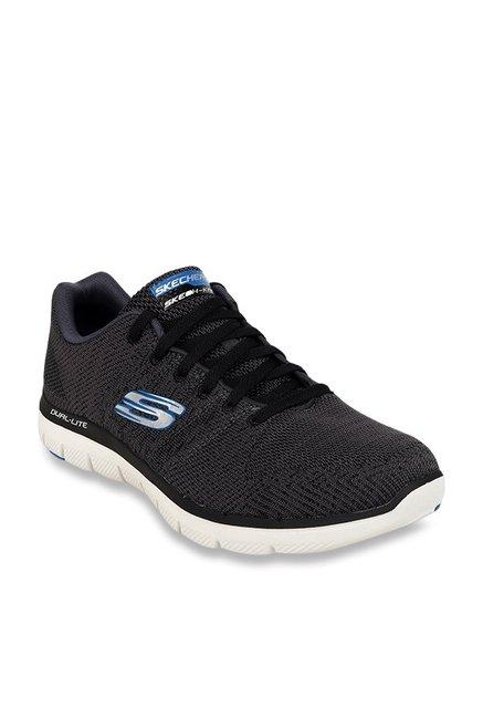 b7f20ba5bac Buy Skechers Flex Advantage 2.0 Black Training Shoes for Men at Best Price    Tata CLiQ