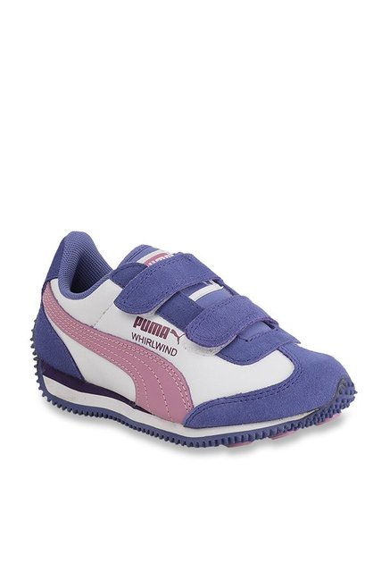 0aae385719cc Buy Puma Whirlwind L PS Baja Blue   Smoky Grape Sneakers for ...