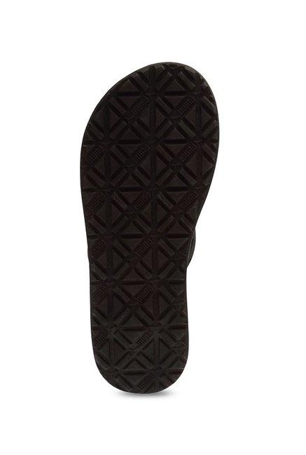 efad97494bfc Buy Puma Webster Black   Steel Grey Flip Flops for Men at Best Price ...
