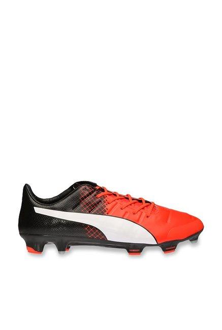 cc5cf7ef54cd76 Buy Puma evoPOWER 1.3 FG Red Blast   Black Football Shoes for Men at ...
