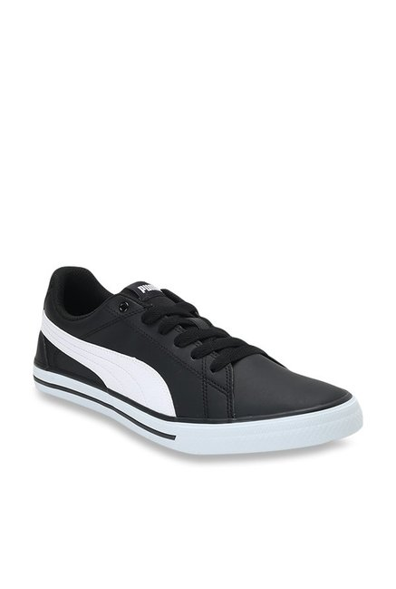 Buy Puma Court Point Vulc V2 IDP Black Sneakers for Men at