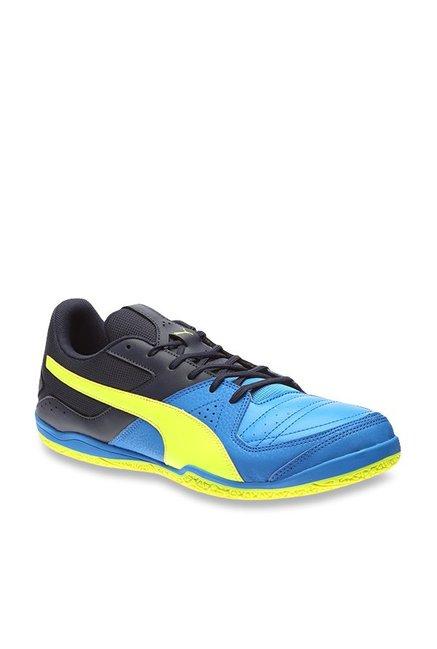 Buy Puma Gavetto Sala Electric Blue & Peacoat Indoor Court