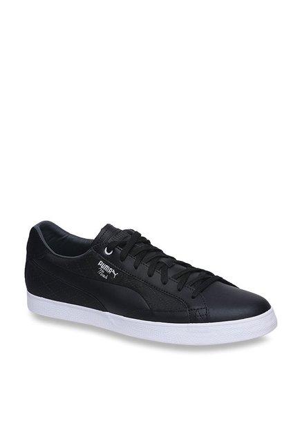 cc38c75ef9c Buy Puma Match Vulc 2 Quilted Black Sneakers for Men at Best Price   Tata  CLiQ