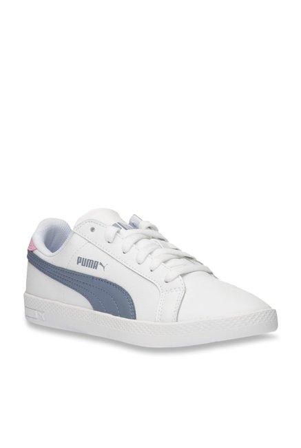 1bc7e0960759 Buy Puma Smash L White Sneakers for Women at Best Price   Tata ...